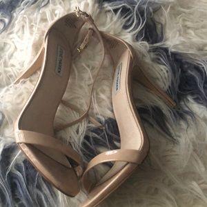Steve Madden nude heels